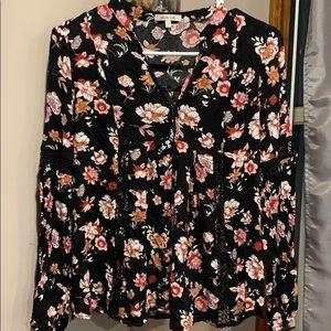 Blueberry ceil blouse